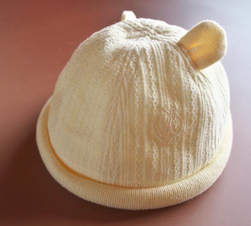 桂由美セレモニードレス・ふんわりイエロー帽子