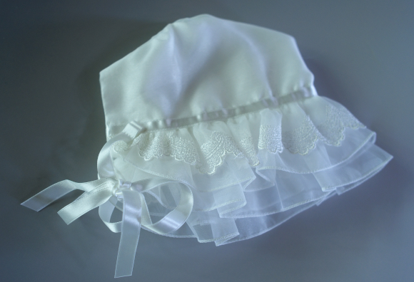 セレモニードレス・カモミール帽子
