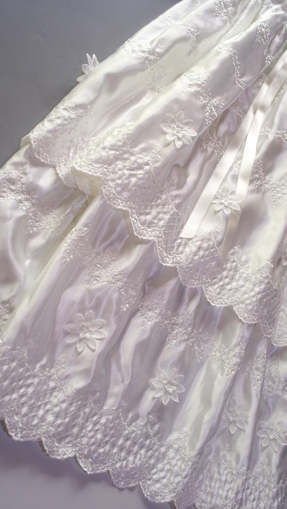 プリンセスドレススカート全景